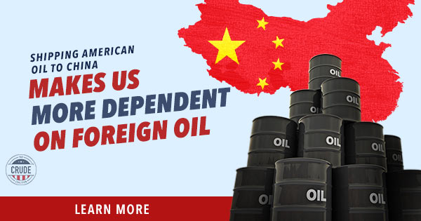 Stop Shipping American Oil to China
