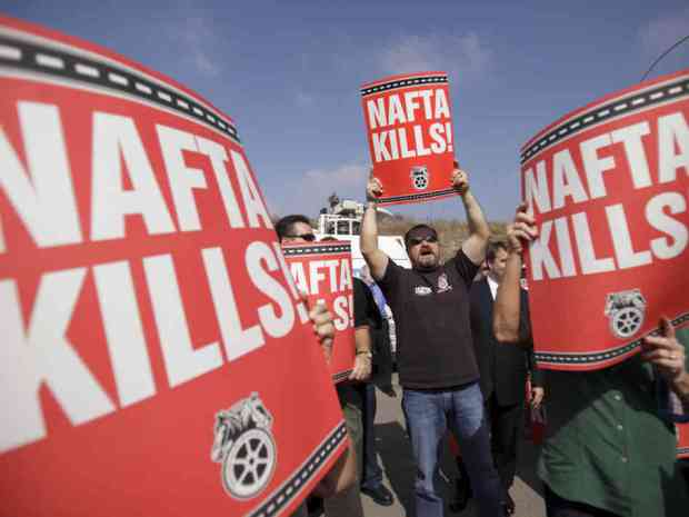 Ditch NAFTA and put American Jobs First