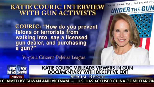 Fire Katie Couric!