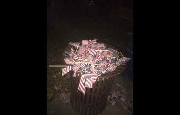 Support College Republicans Whose 9/11 Memorial was Vandalized
