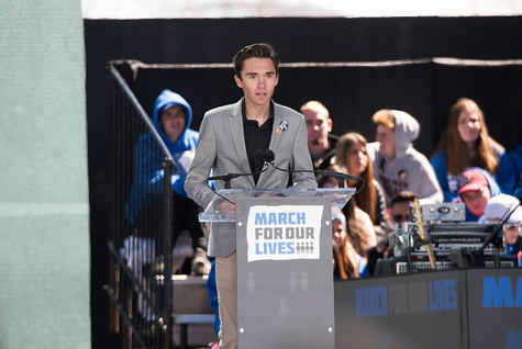 Stop David Hogg's 15 minutes of fame